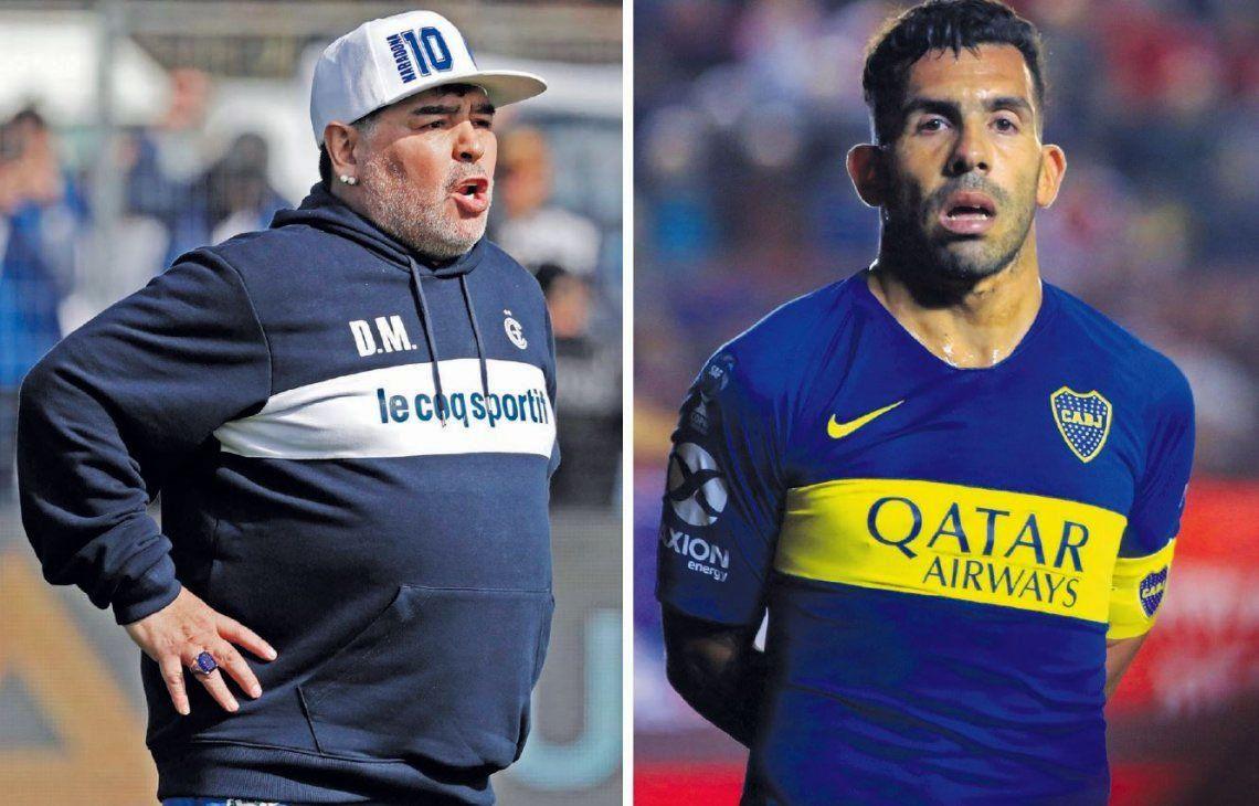 Diego Maradona piensa en Racing y en refuerzos estelares para Gimnasia: ¿Podrá convencer a Carlos Tevez?