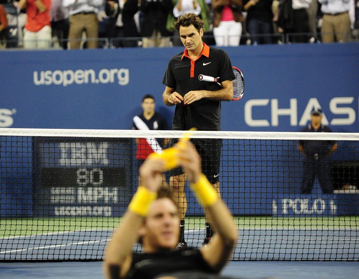 En fotos: a diez años de la consagración de Del Potro en el US Open