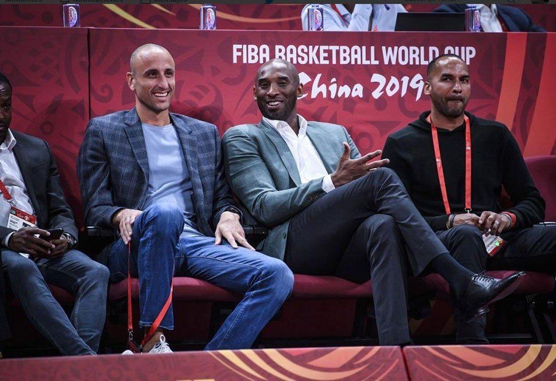 Mundial de Básquet de China 2019: así vivió en la cancha Manu Ginóbili la semifinal entre Argentina y Francia