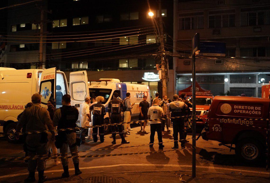 Brasil | Se incendió un hospital en Río de Janeiro: hay al menos 11 muertos