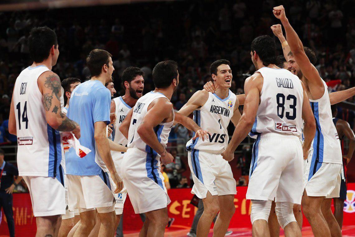 Fotos | Mundial de Básquet de China 2019: postales del histórico triunfo de Argentina ante Francia