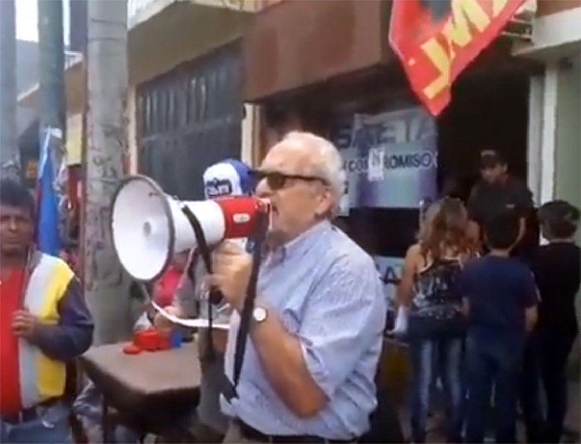 El Gobierno denunció al dirigente social Oscar Kuperman por amenazas de saqueos a supermercados