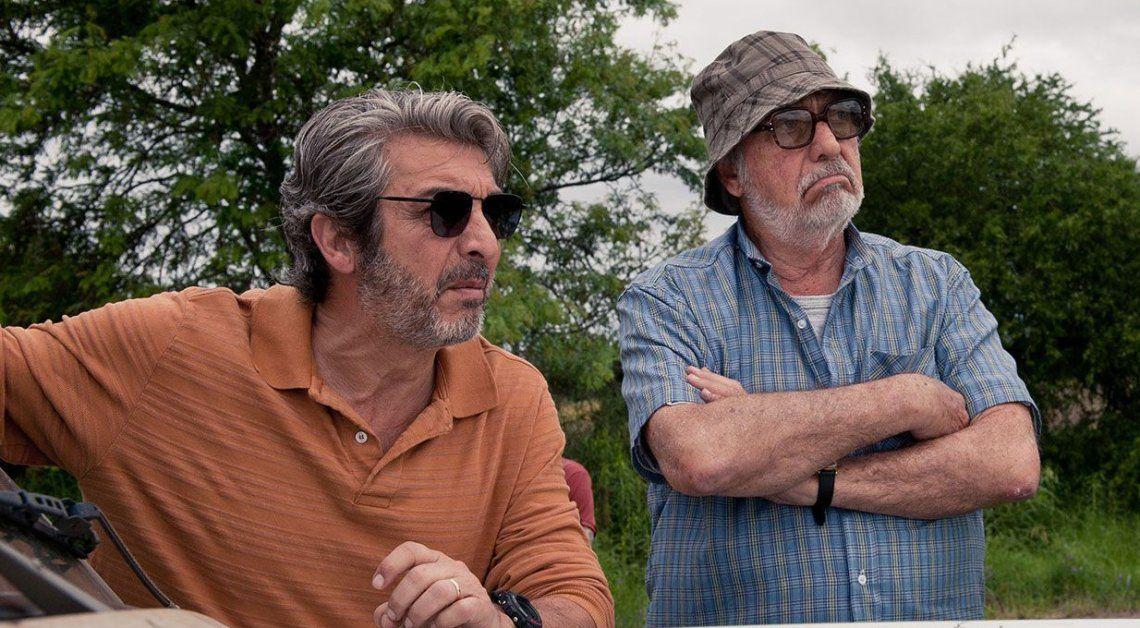 Ricardo Darín y Luis Brandoni protagonizan el film La Odisea de los Giles.