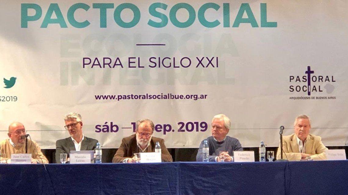 La Iglesia destacó la necesidad de un pacto social para el Siglo XXI, en sintonía con Alberto Fernández