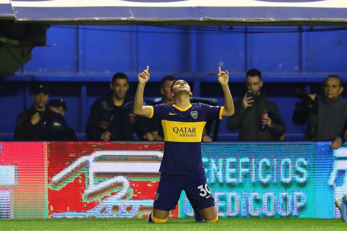 Boca puntero: golpeó rápido y le ganó con lo justo a Estudiantes en la Bombonera
