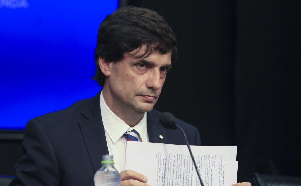 El ministro Lacunza presentará a las 15
