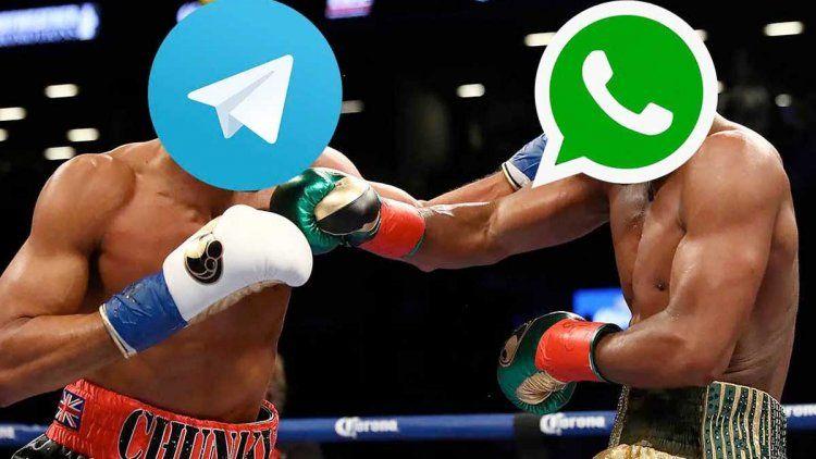 La burla de Telegram a WhatsApp en Twitter que se transformó en viral