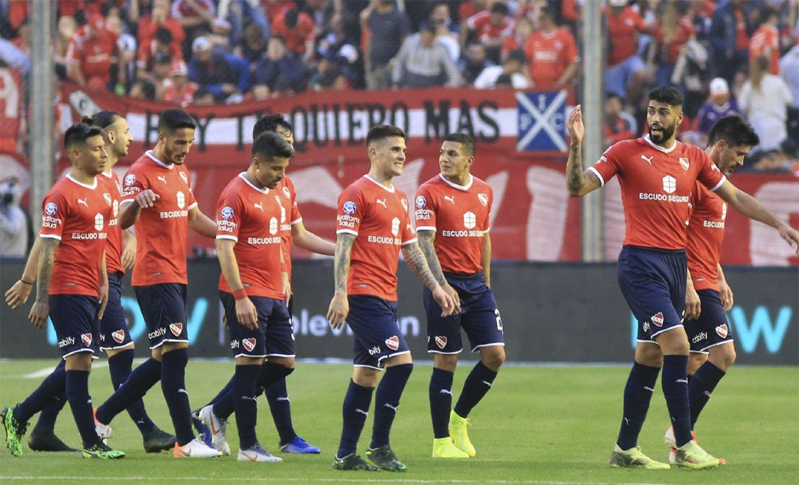 Independiente: Sebastián Beccacece borró a Pablo Pérez