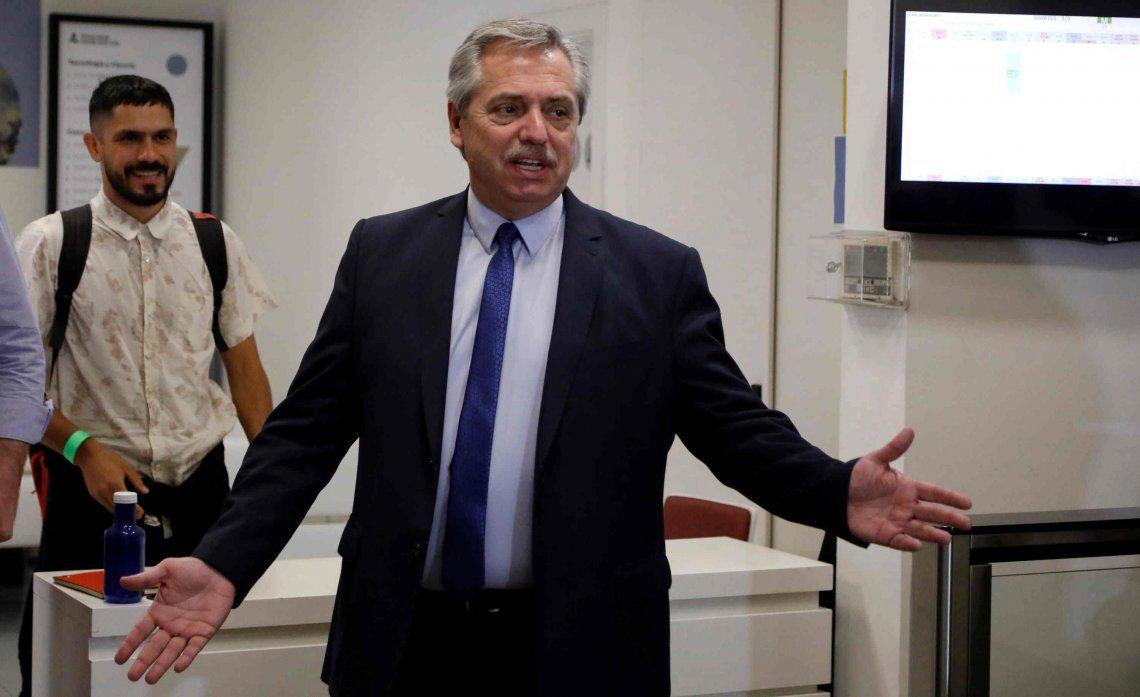 Alberto Fernández: El debate por el presupuesto puede esperar