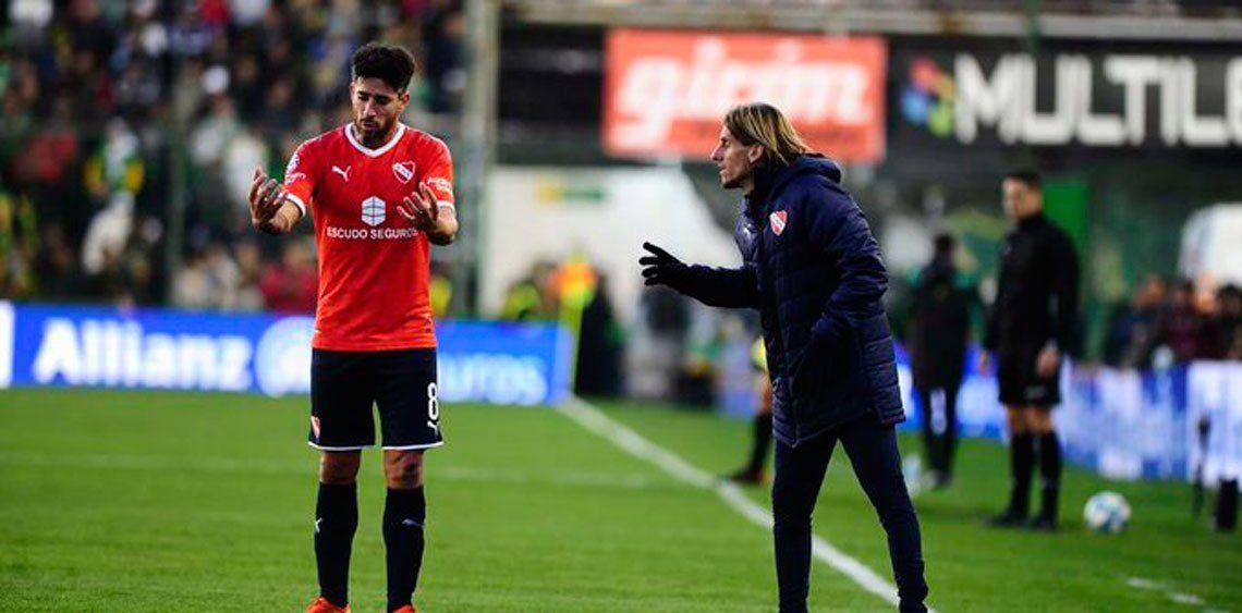 Un dirigente de Independiente habló de la pelea entre Beccacece y Pablo Pérez