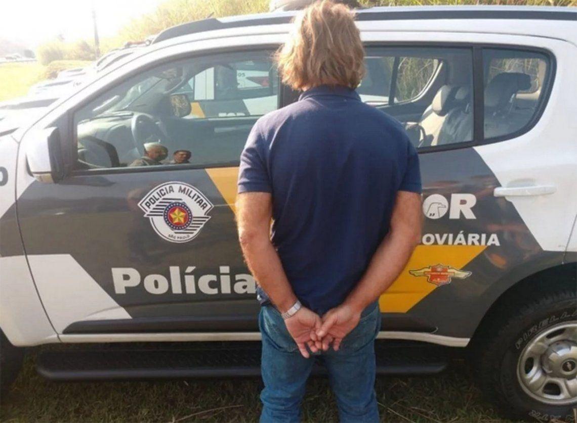 Maguila Puccio fue liberado en forma provisoria en Brasil