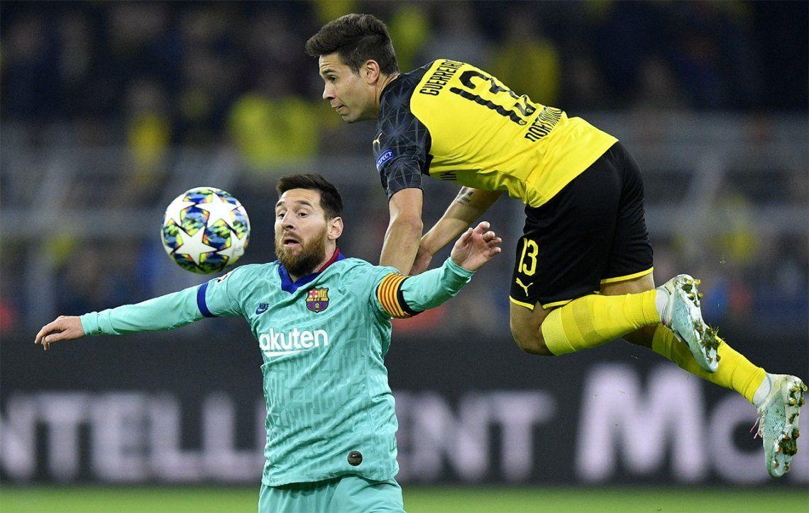 Champions League: Barcelona, con el regreso de Lionel Messi y Marc-André ter Stegen como figura, igualó ante Borussia Dortmund