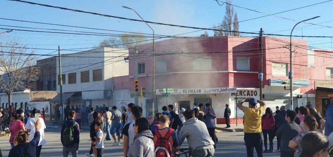 Crimen de Cielo López: demoraron a dos personas y hubo incidentes