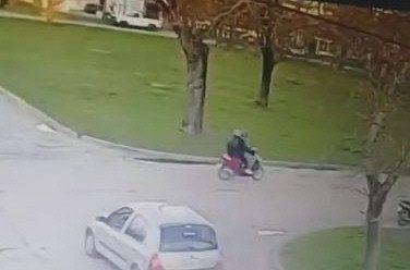 Ayer se conoció un video donde se ve a Navila viajando en la moto de Garay.