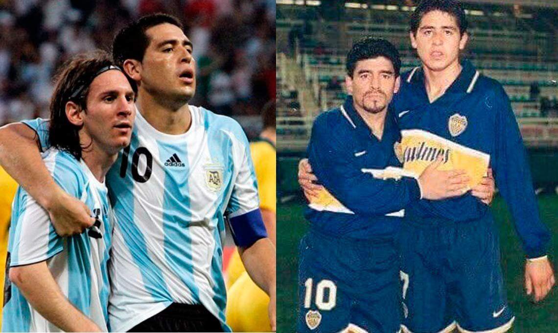 ¿Estarán Messi y Maradona en la despedida de Juan Román Riquelme?