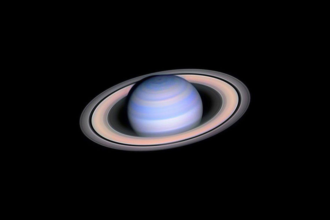 Infrared Saturn   László Francsics