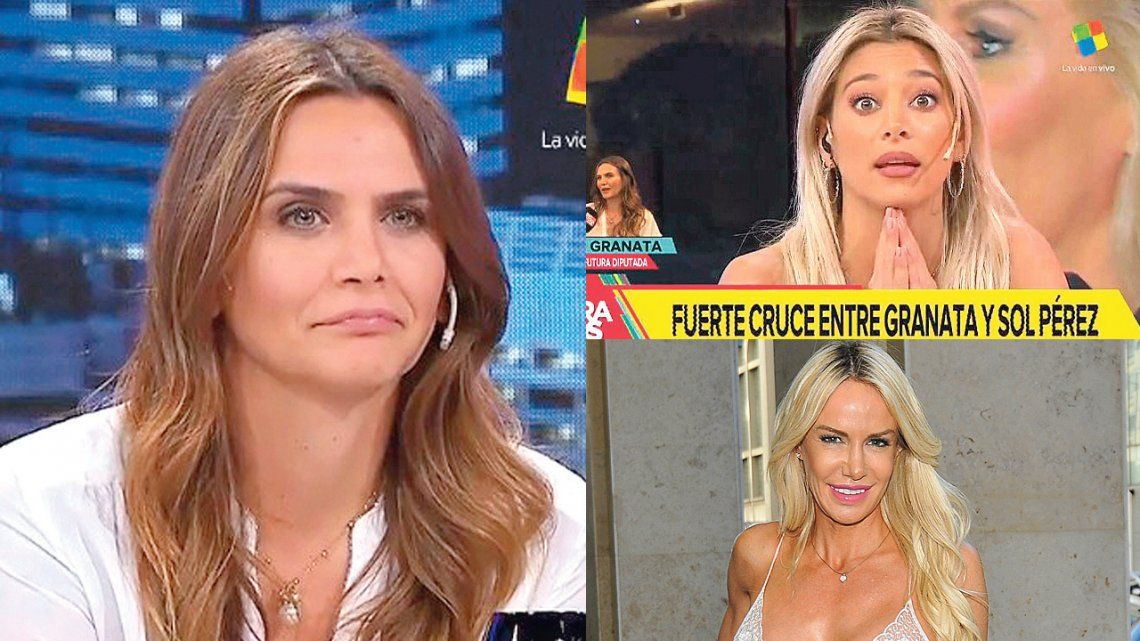 Amalia Granata vs Sol Pérez y Luciana Salazar