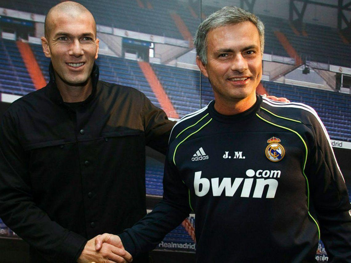 ¿Despiden a Zidane? José Mourinho ya suena como su reemplazante en el Real Madrid