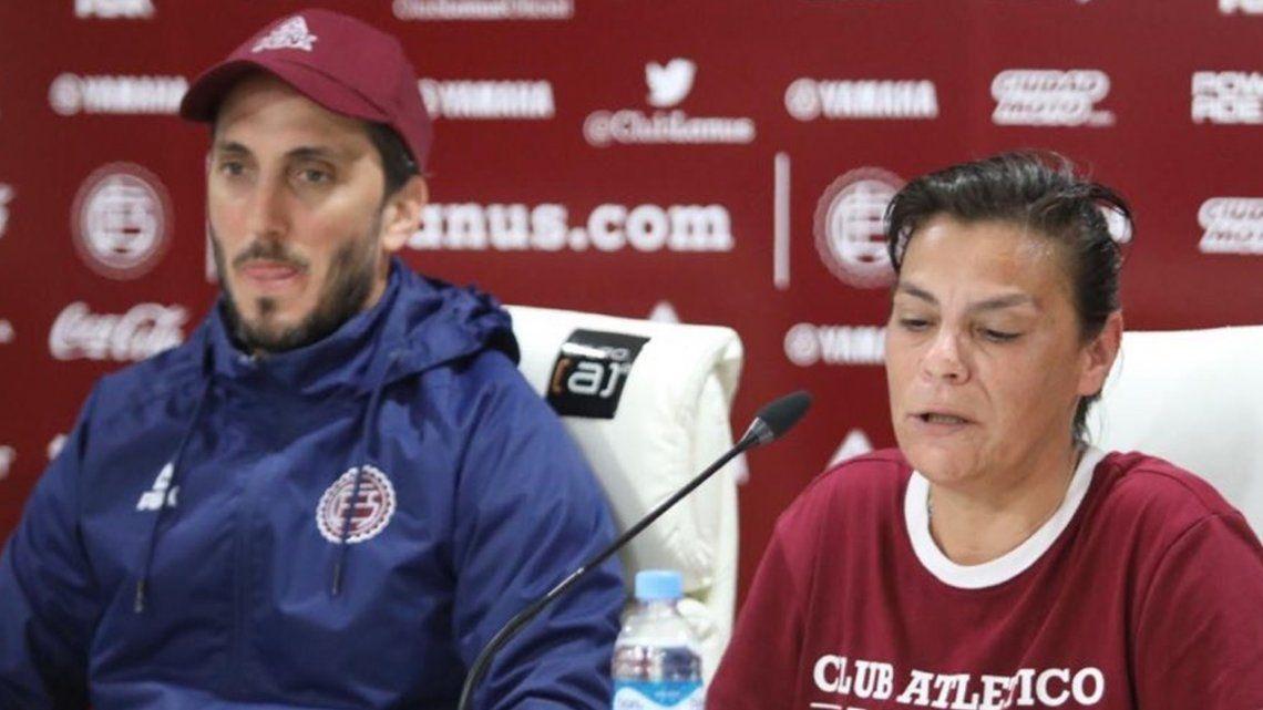 Karina Medrano, la entrenadora de Lanús que sueña en grande: El fútbol femenino tiene una brecha para crecer exponencialmente