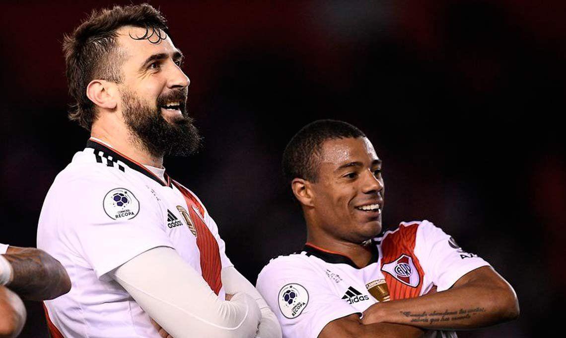 Lucas Pratto y Nicolás De La Cruz entre algodones de cara al Boca-River por Copa Libertadores