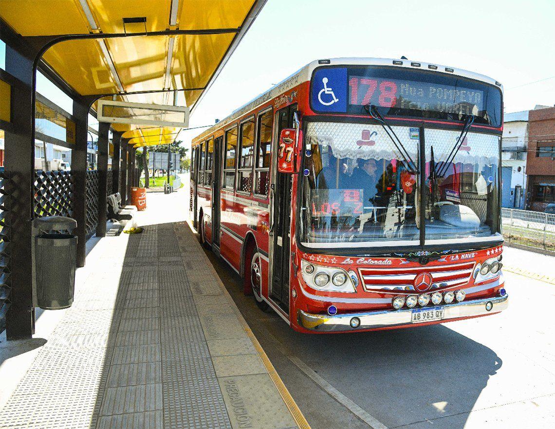 Florencio Varela: prueba de arrime en el Metrobus