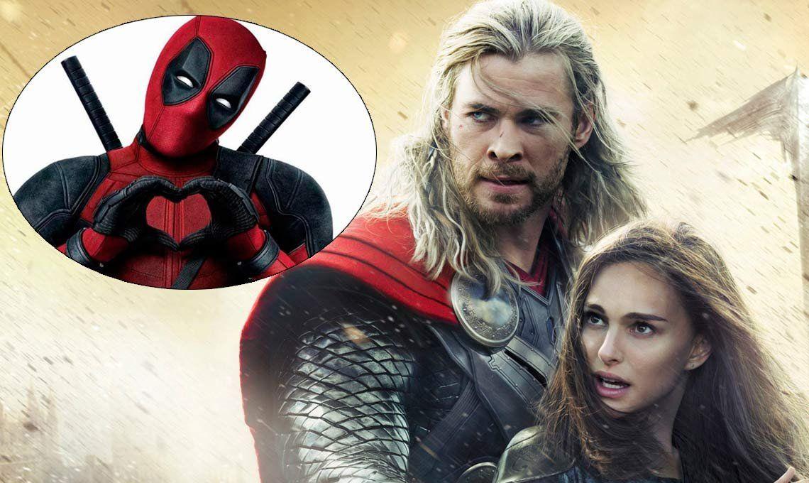 Deadpool podría sumarse al Universo Marvel en Thor: Love and The Thunder