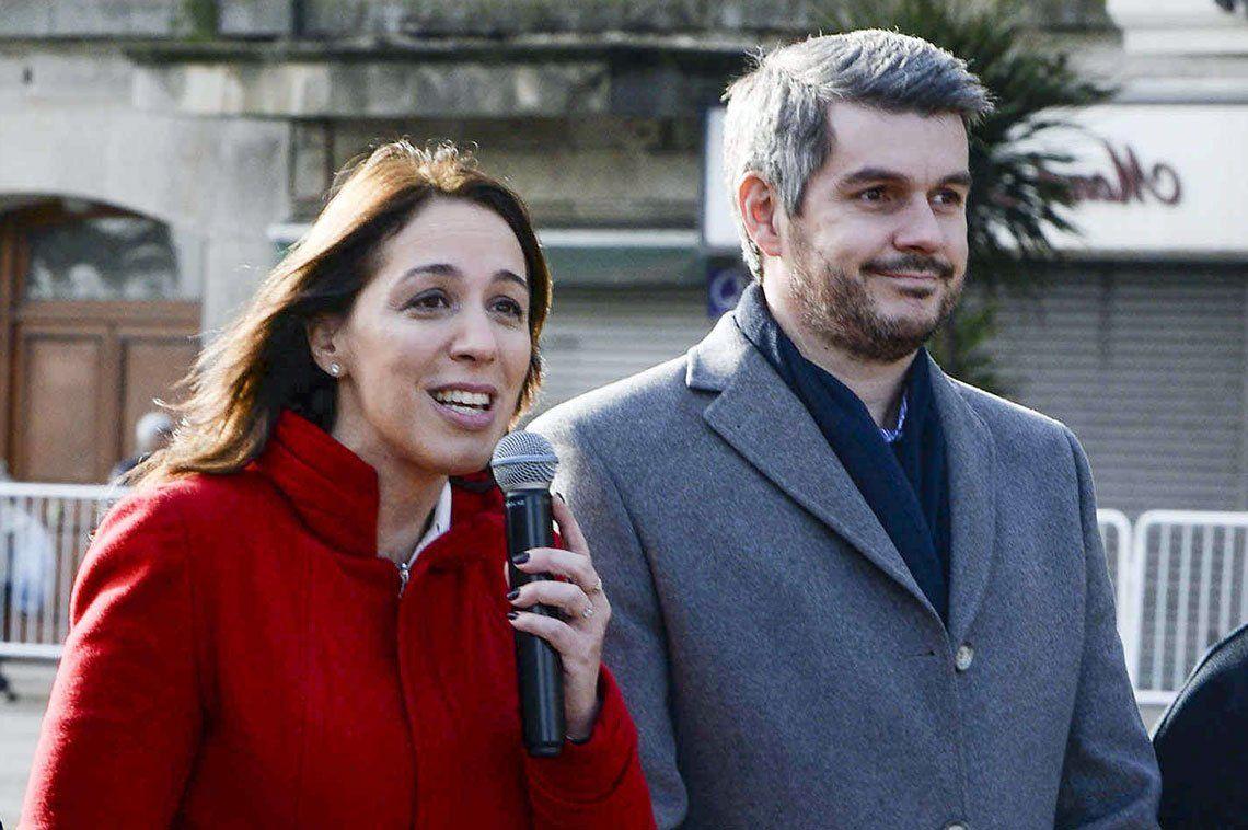 Reunión entre María Eugenia Vidal y Marcos Peña para limar asperezas