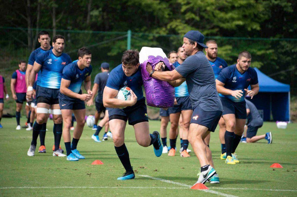 Los Pumas, con todo listo para el debut en el Mundial de Rugby de Japón 2019