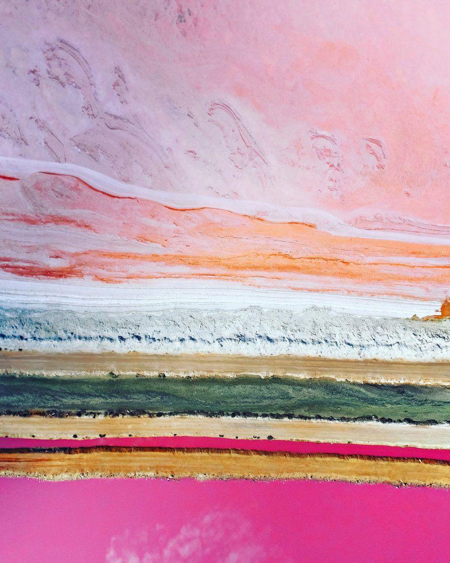Segundo lugar - paisaje | Pink Lake por Leigh Miller