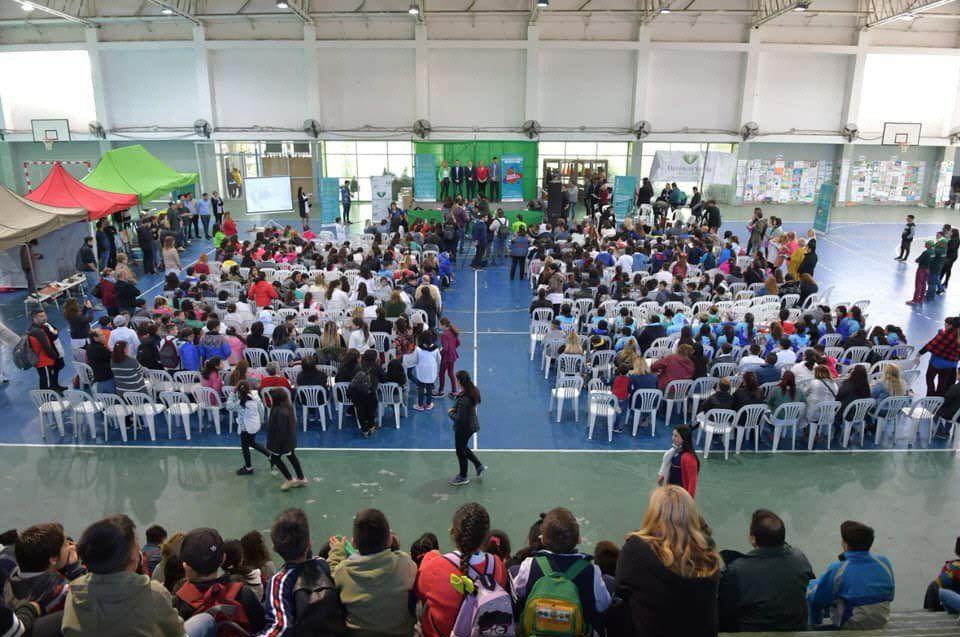 El acto de premiación se realizó en el Polideportivo Municipal La Patriada.