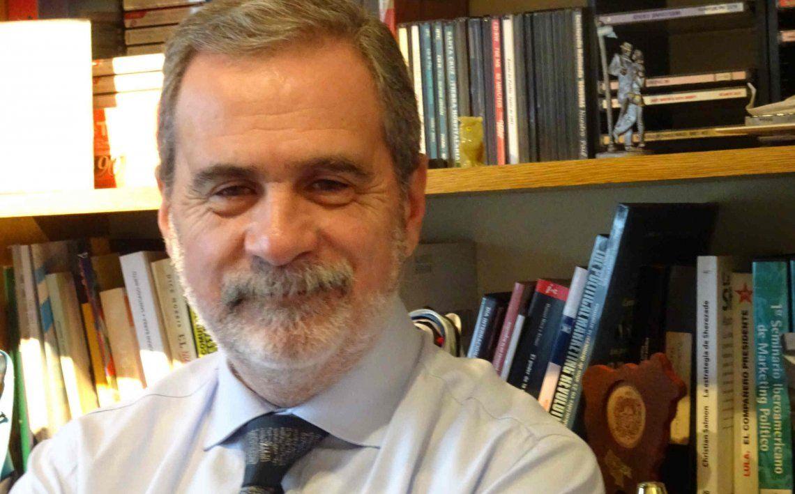 El consultor político Carlos Fara realiza su evaluación.