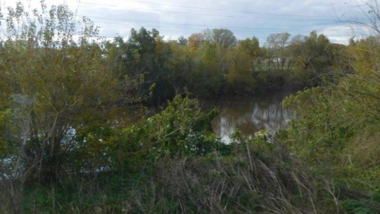 Apareció en el río un cadáver con múltiples cortes y sin ojos