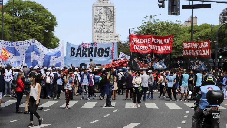 Movimientos sociales realizarán una nueva movilización a Plaza de Mayo