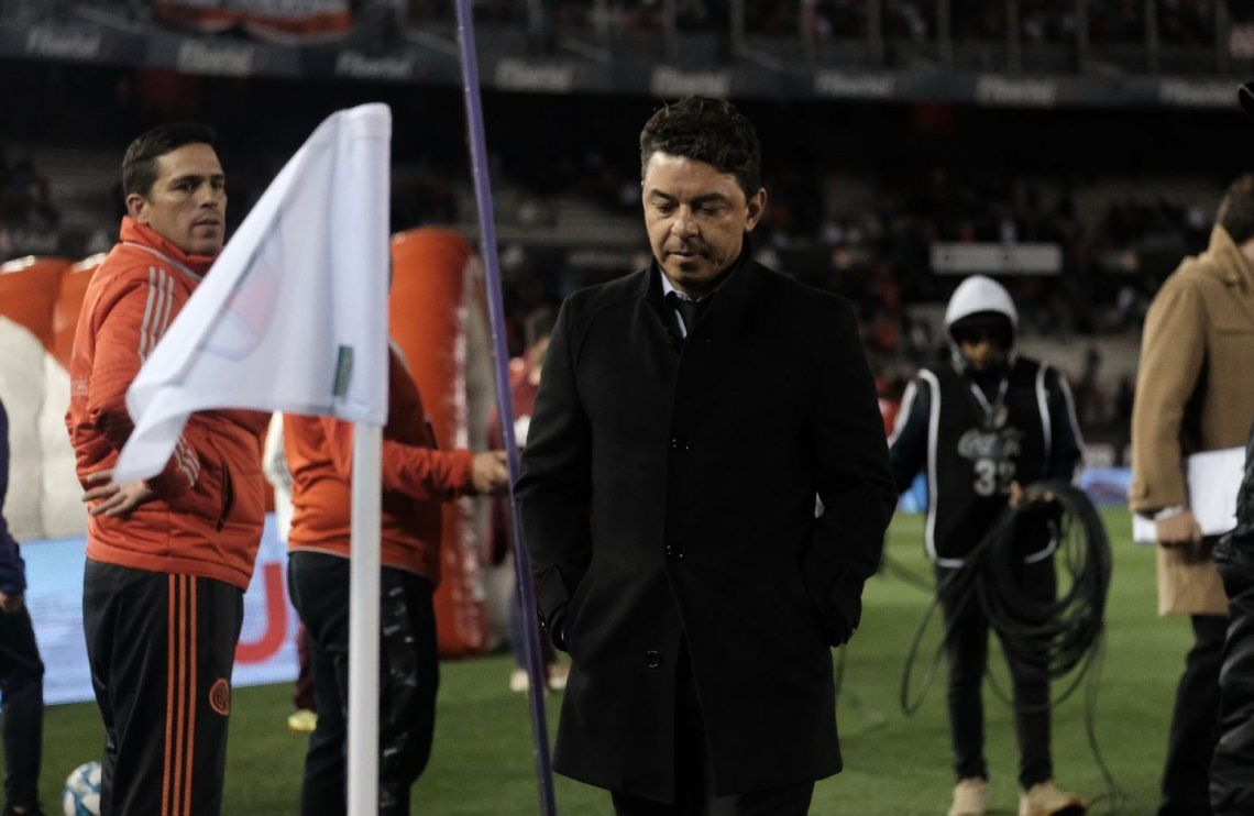 Marcelo Gallardo se lamentó por la derrota de River ante Vélez: Fue injusto perder este partido