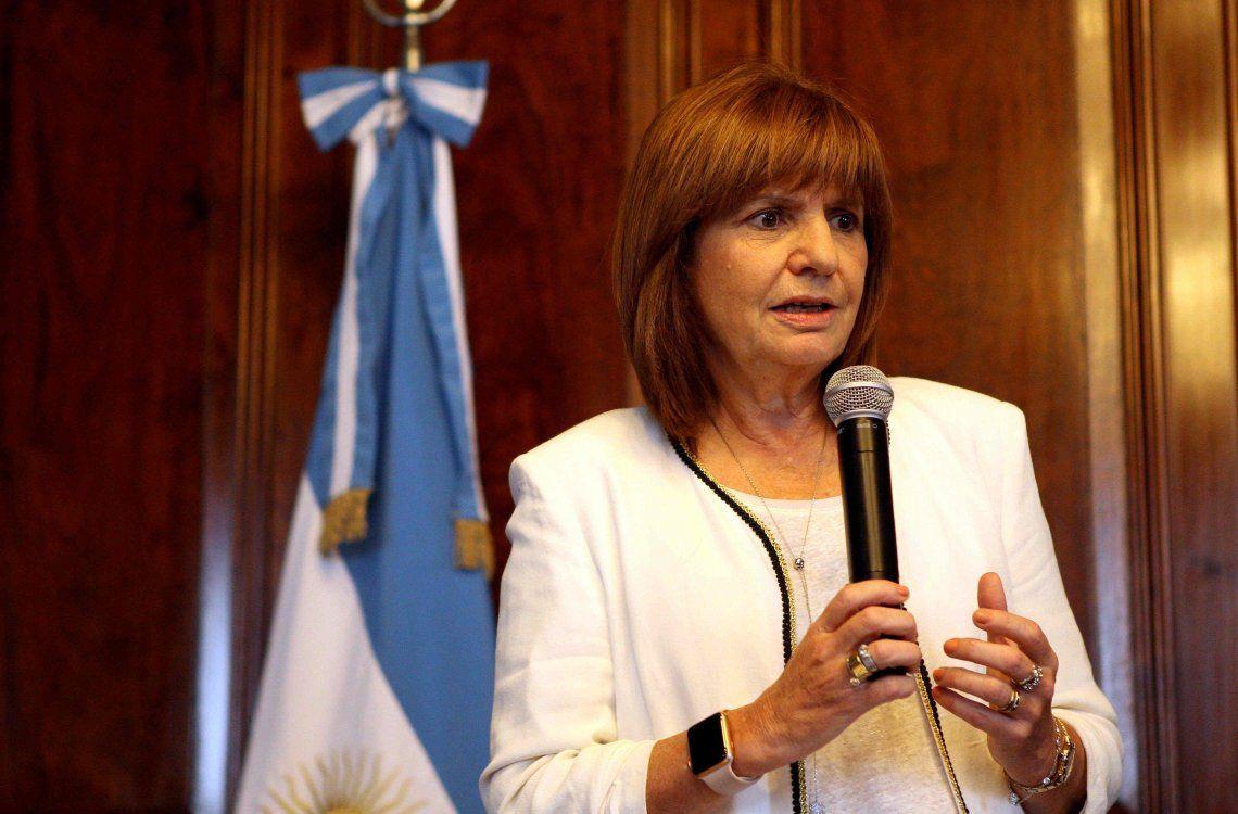 Patricia Bullrich: Pase lo que pase, no me iría nunca del país