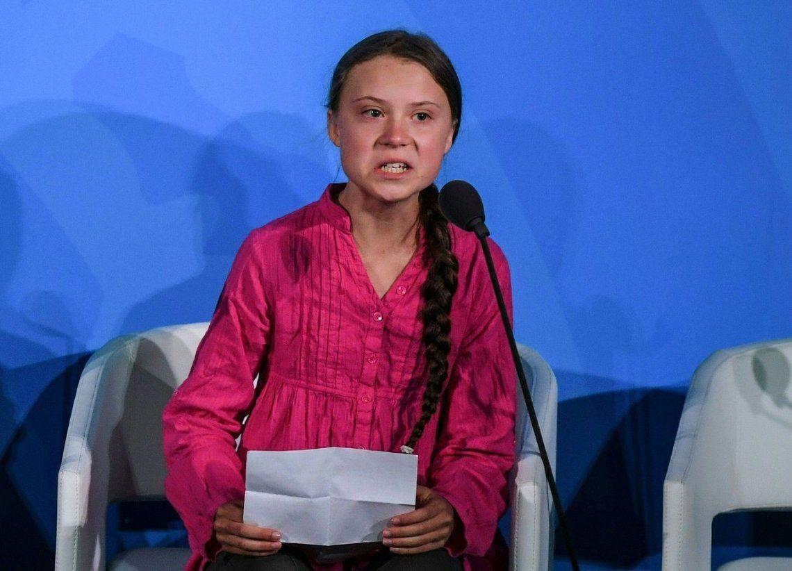 Greta Thunberg denunció a la Argentina por contaminante