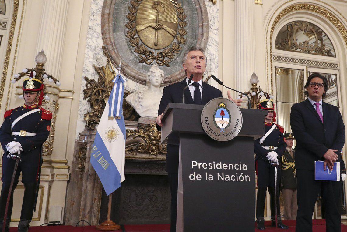 Macri presentó el proyecto del Código Procesal Civil
