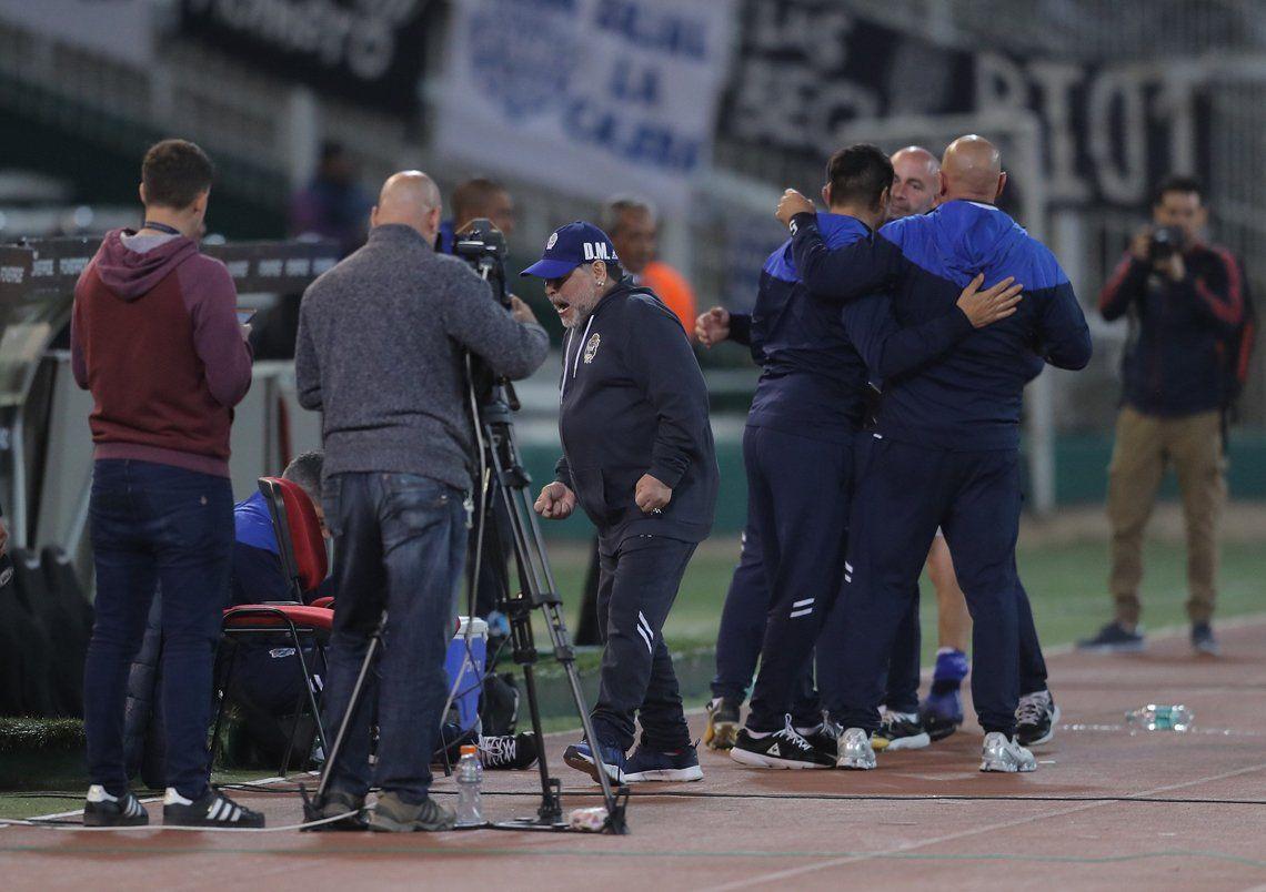 La derrota de Gimnasia ante Talleres, en fotos