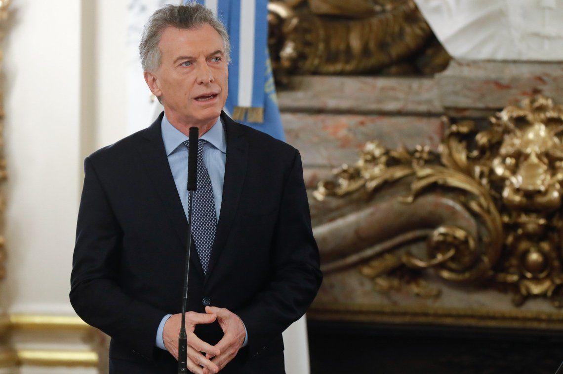 Macri celebró el acuerdo entre empresarios y sindicalistas por el bono de cinco mil pesos