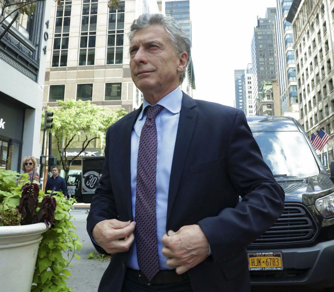 MauricioMacridijo quesalió todo muy bientras la reunión con el FMI para intentar destrabar el desembolso de US$5400 millones