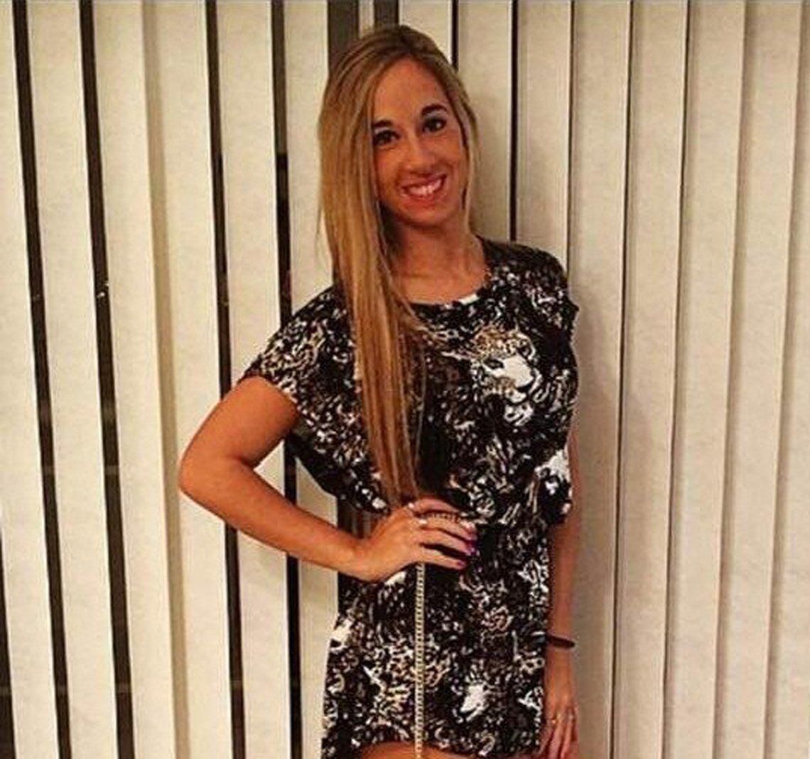 Macarena tenía 21 años en abril de 2015