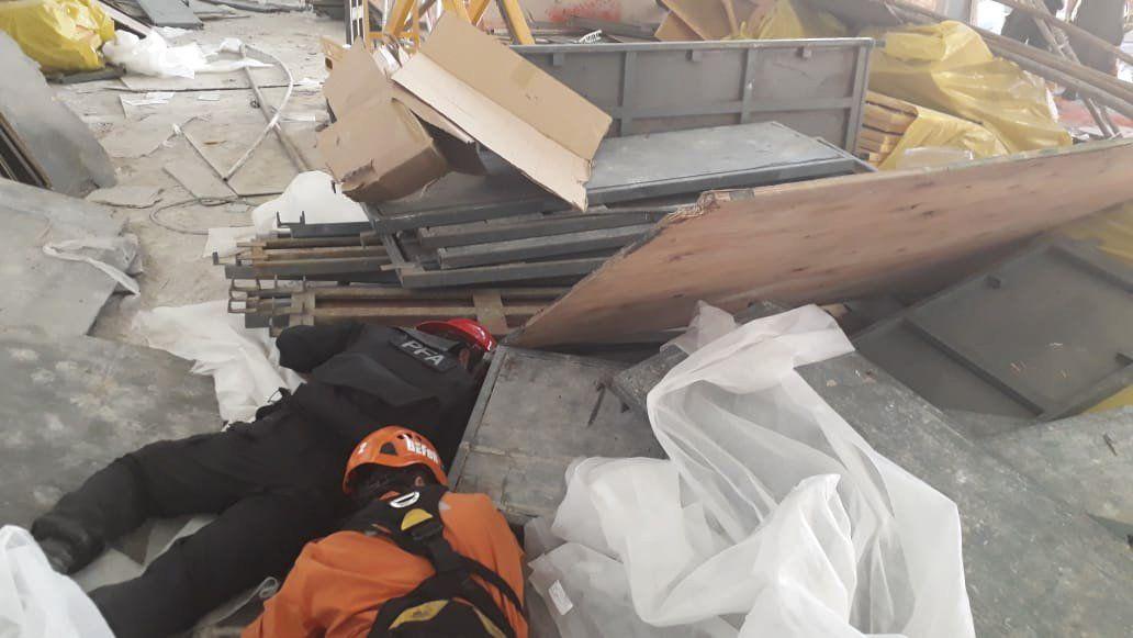 Tragedia en Ezeiza: así sacaban a los heridos