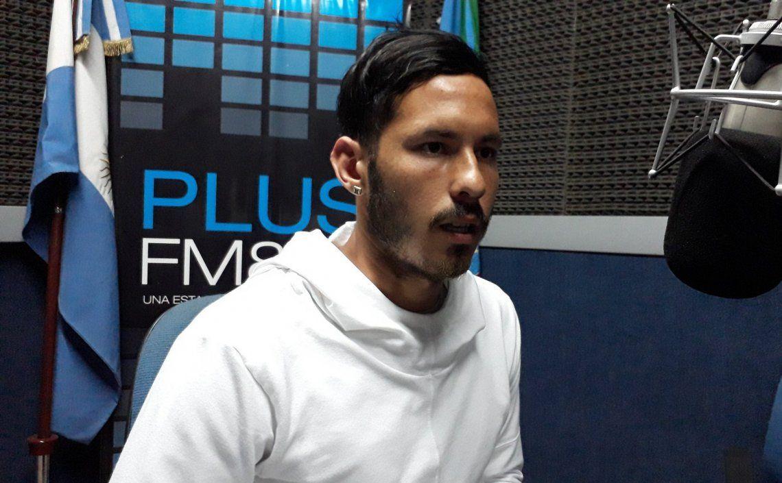 El defensor del Criollo lamentó la derrota y se mostró compungido por la lesión de Buzzi.