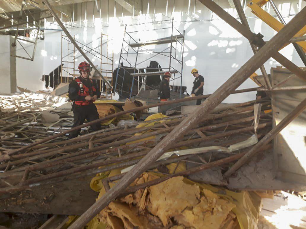 Tragedia en Ezeiza: realizan reconstrucción del accidente en el que murió un operario