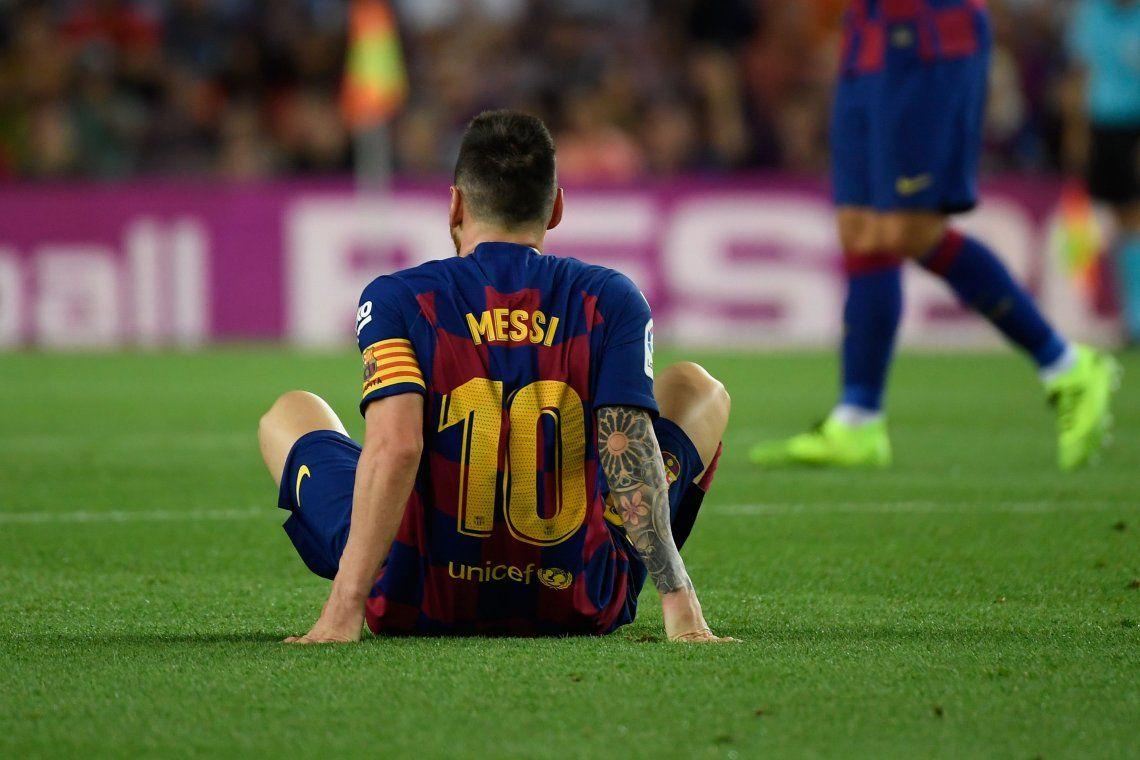 Messi ni apareció entre los convocados de Barcelona para enfrentar al Inter por la Champions League