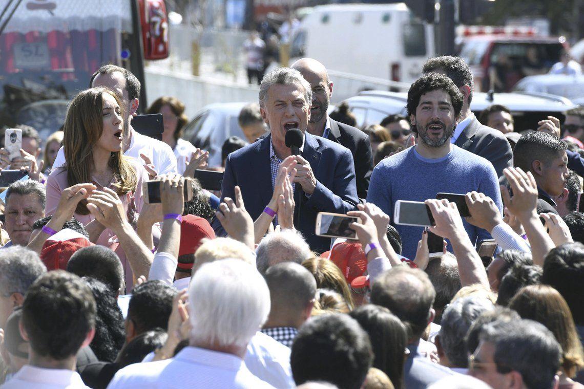 Florencio Varela: Macri y Vidal se mostraron juntos después de las PASO