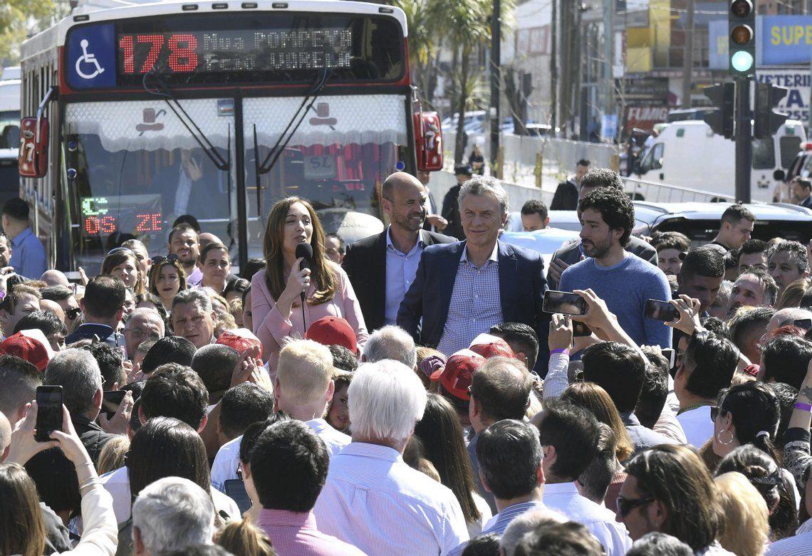 Macri y Vidal enviaron sus condolencias a la familia del obrero fallecido en el derrumbe en Ezeiza