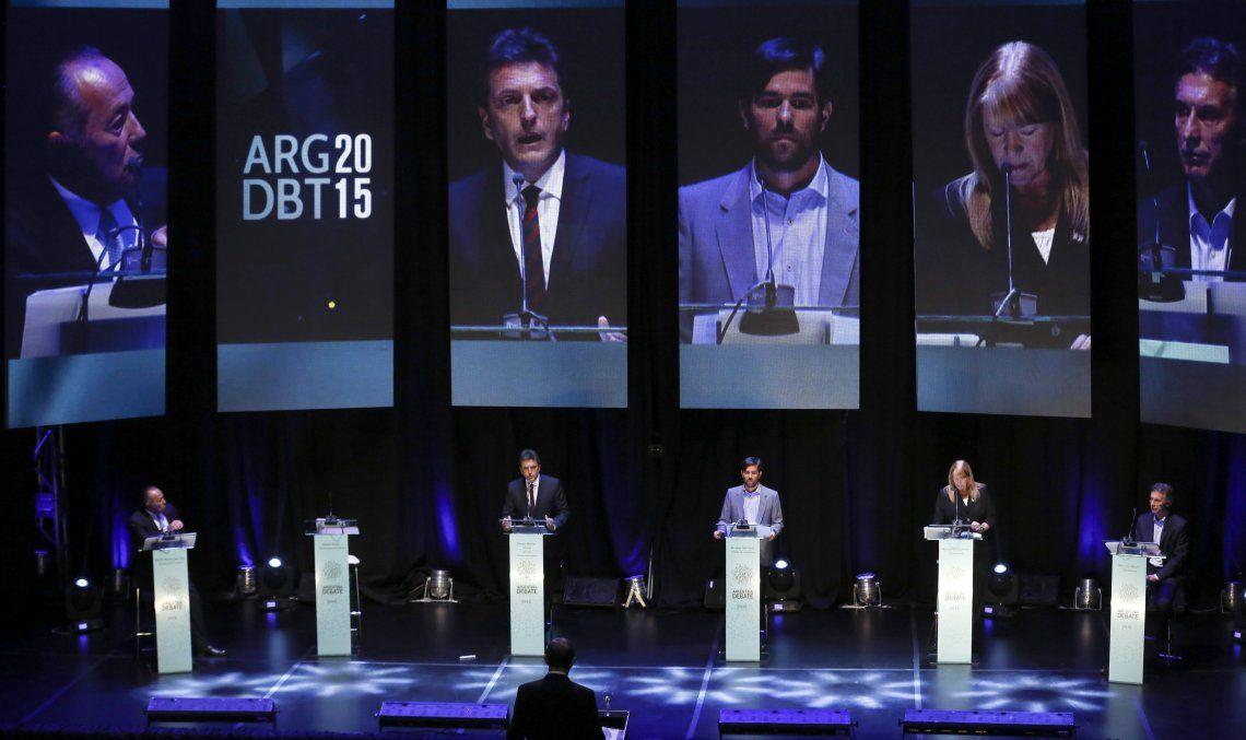 El recordado debate de 2015