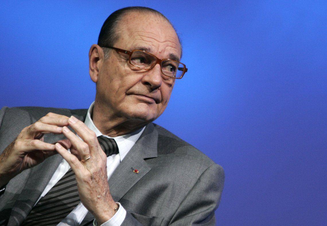 A los 86 años, murió el expresidente de Francia Jaques Chirac