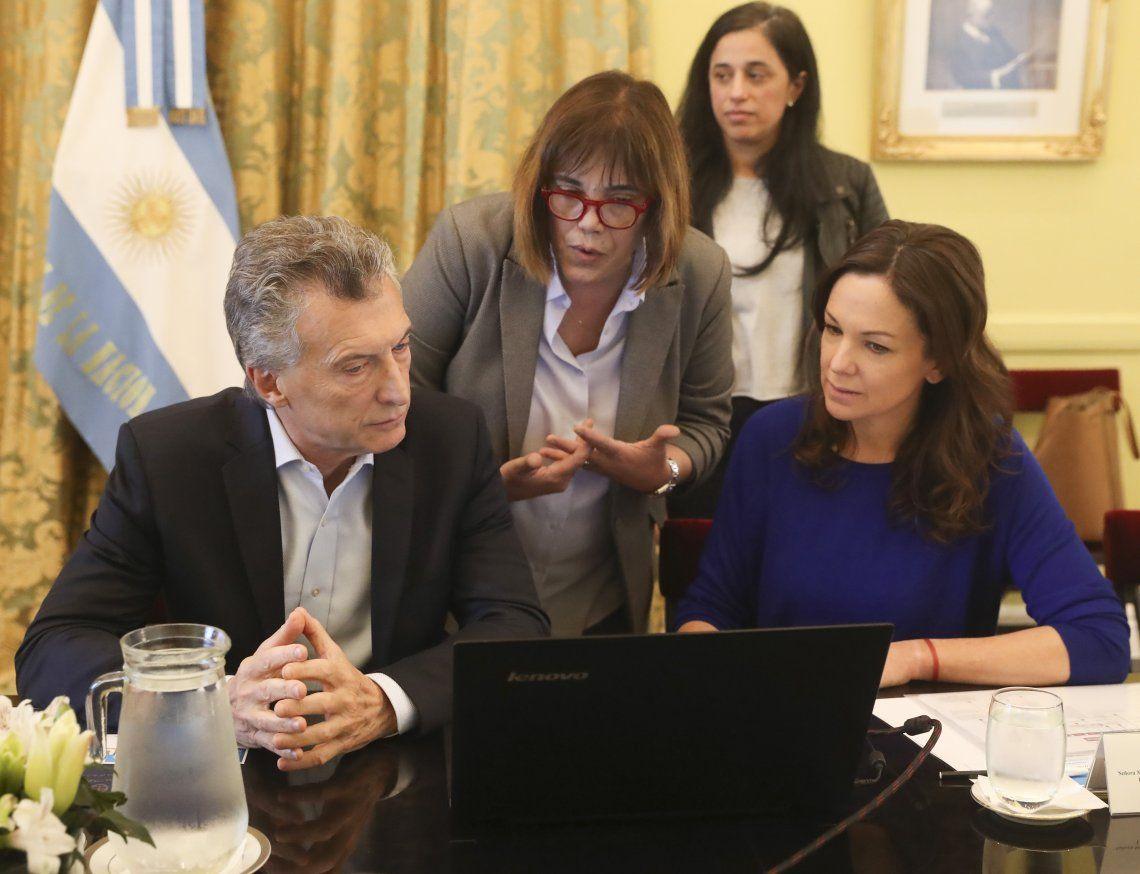Macri hizo un curso sobre temáticas de género y violencia contra las mujeres